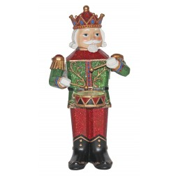 Red and green Nutcracker