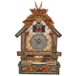Cuckoo Clock with deer antlers