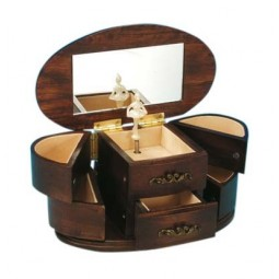 Jewelry box made of wood