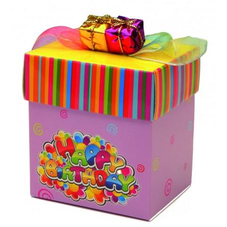 """Display """"Happy Birthday boxes"""""""