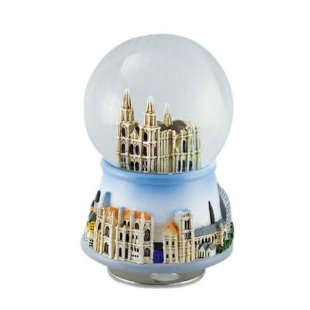 "Glitter globe ""Regensburg"""
