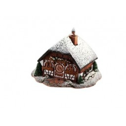Little black forest house
