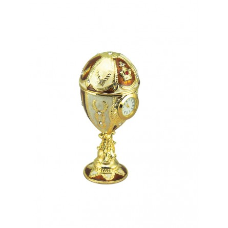 Faberge egg yellow