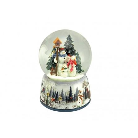 Snow globe snowmen