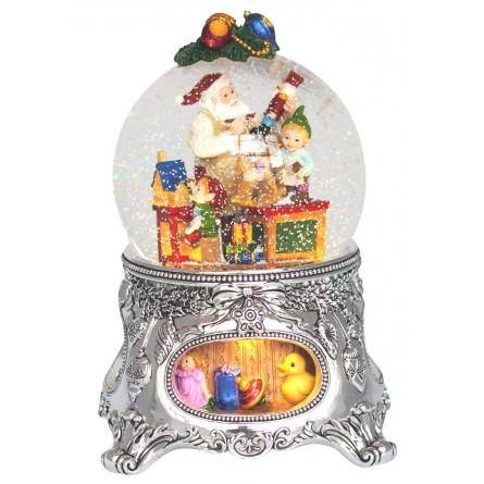 Snow globe Santa's workshop
