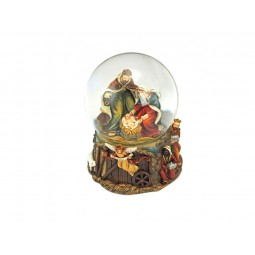 Crib snow globe