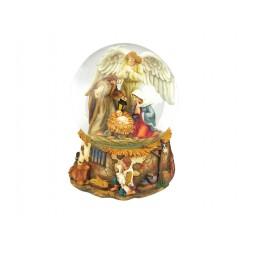 Snow globe crib/angel
